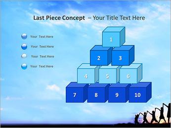 Group Of Children PowerPoint Templates - Slide 11