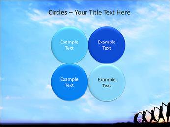 Group Of Children PowerPoint Template - Slide 18