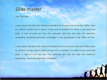 Group Of Children PowerPoint Templates - Slide 2