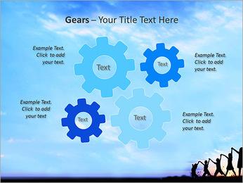 Group Of Children PowerPoint Templates - Slide 27