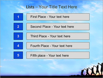 Group Of Children PowerPoint Templates - Slide 3