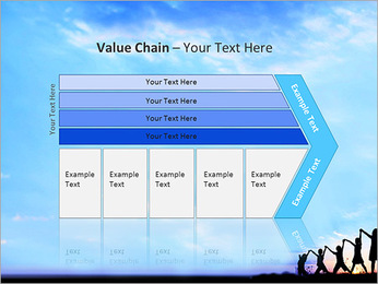 Group Of Children PowerPoint Template - Slide 7