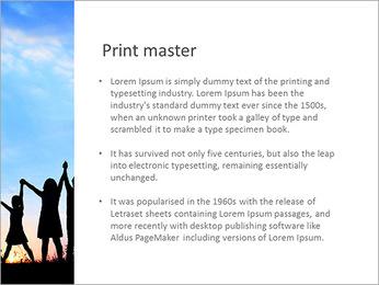 Group Of Children PowerPoint Templates - Slide 76