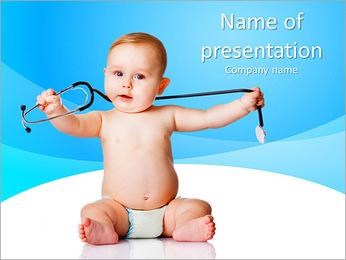 Pediatrics PowerPoint Template - Slide 1