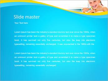 Brush Up Teeth PowerPoint Templates - Slide 2