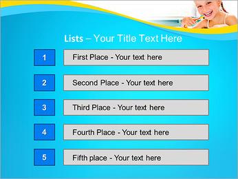 Brush Up Teeth PowerPoint Templates - Slide 3