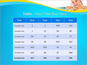 Brush Up Teeth PowerPoint Templates - Slide 35