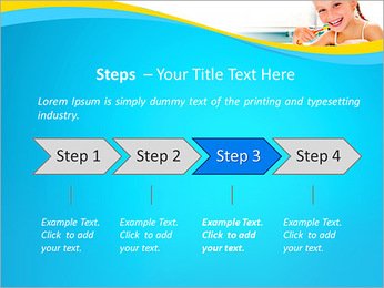 Brush Up Teeth PowerPoint Templates - Slide 4