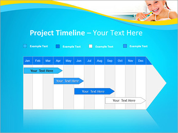 Brush Up Teeth PowerPoint Templates - Slide 5