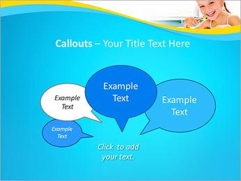 Brush Up Teeth PowerPoint Templates - Slide 53