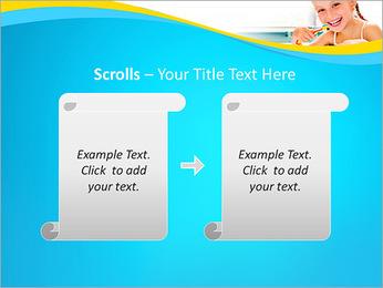Brush Up Teeth PowerPoint Templates - Slide 54