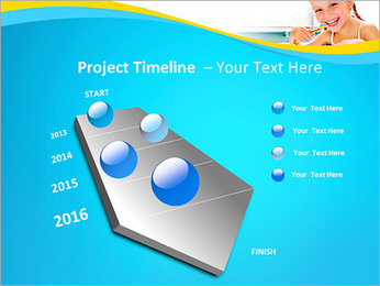 Brush Up Teeth PowerPoint Templates - Slide 6