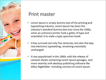 Brush Up Teeth PowerPoint Templates - Slide 76