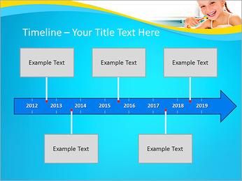 Brush Up Teeth PowerPoint Templates - Slide 8