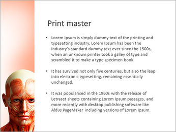Head Anatomy PowerPoint Template - Slide 76