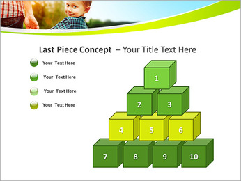 Walk With Kid PowerPoint Template - Slide 11