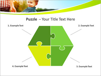 Walk With Kid PowerPoint Template - Slide 20