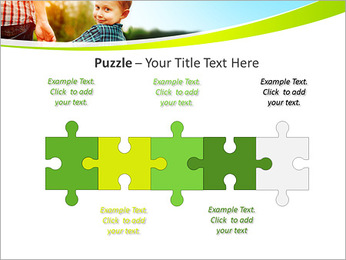 Walk With Kid PowerPoint Template - Slide 21