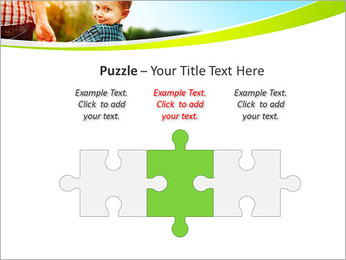 Walk With Kid PowerPoint Template - Slide 22