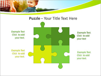 Walk With Kid PowerPoint Template - Slide 23