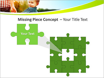 Walk With Kid PowerPoint Template - Slide 25