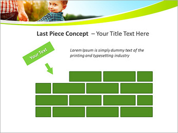 Walk With Kid PowerPoint Template - Slide 26