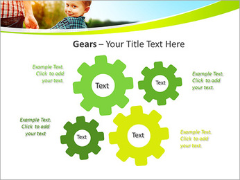 Walk With Kid PowerPoint Template - Slide 27