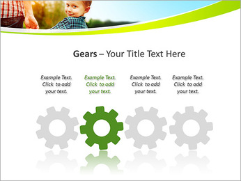 Walk With Kid PowerPoint Template - Slide 28