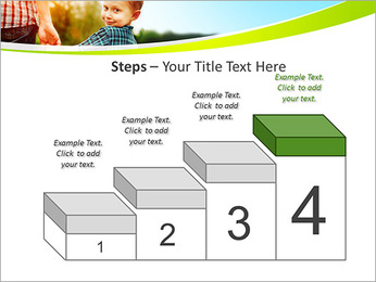 Walk With Kid PowerPoint Template - Slide 44