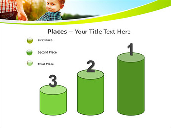 Walk With Kid PowerPoint Template - Slide 45