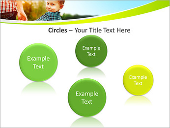 Walk With Kid PowerPoint Template - Slide 57