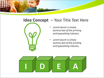 Walk With Kid PowerPoint Template - Slide 60