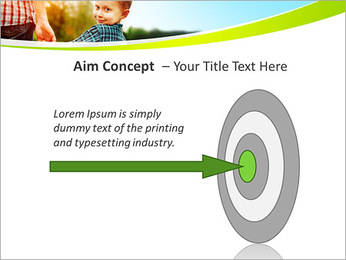 Walk With Kid PowerPoint Template - Slide 63