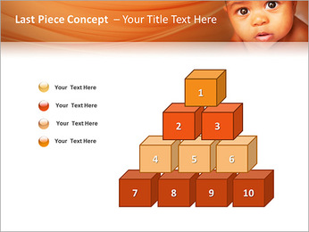 Afro American Baby PowerPoint Templates - Slide 11