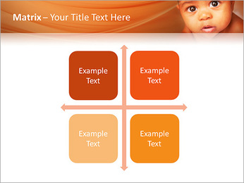 Afro American Baby PowerPoint Templates - Slide 17