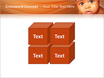 Afro American Baby PowerPoint Templates - Slide 19