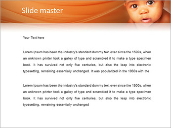 Afro American Baby PowerPoint Templates - Slide 2