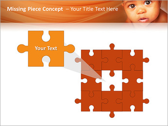 Afro American Baby PowerPoint Templates - Slide 25