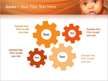 Afro American Baby PowerPoint Templates - Slide 27