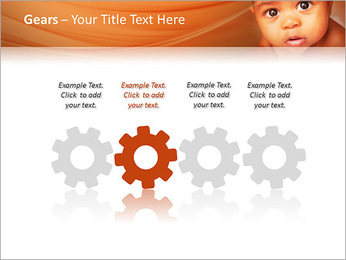 Afro American Baby PowerPoint Templates - Slide 28
