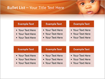 Afro American Baby PowerPoint Templates - Slide 36