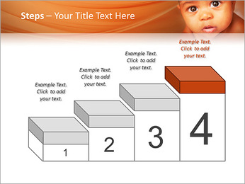 Afro American Baby PowerPoint Templates - Slide 44