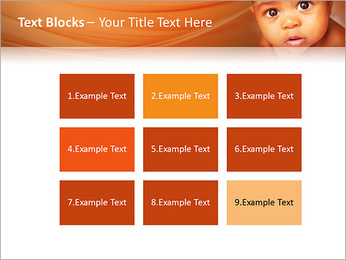 Afro American Baby PowerPoint Templates - Slide 48
