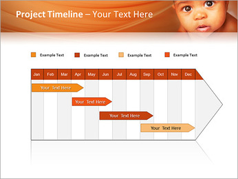 Afro American Baby PowerPoint Templates - Slide 5