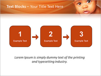 Afro American Baby PowerPoint Templates - Slide 51