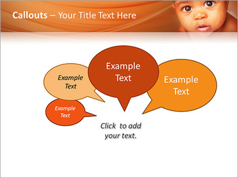 Afro American Baby PowerPoint Templates - Slide 53