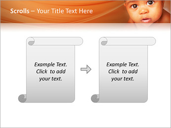 Afro American Baby PowerPoint Templates - Slide 54