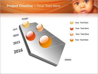 Afro American Baby PowerPoint Templates - Slide 6