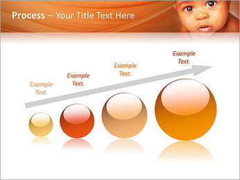 Afro American Baby PowerPoint Templates - Slide 67