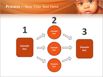 Afro American Baby PowerPoint Templates - Slide 72